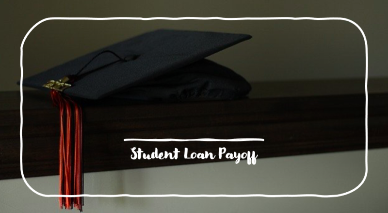 student loan debt payoff