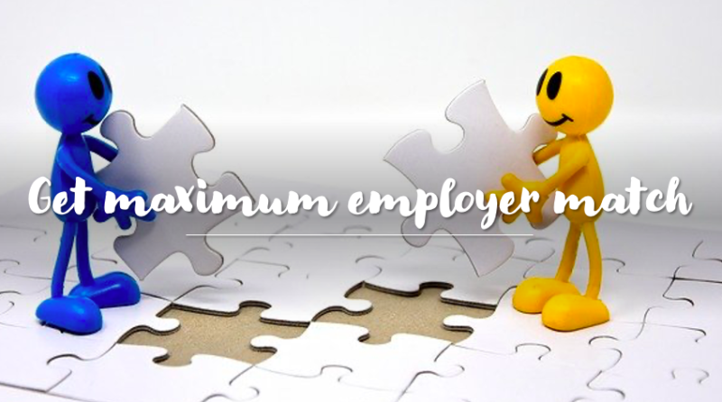 Retirement Fund Strategy - get employer match