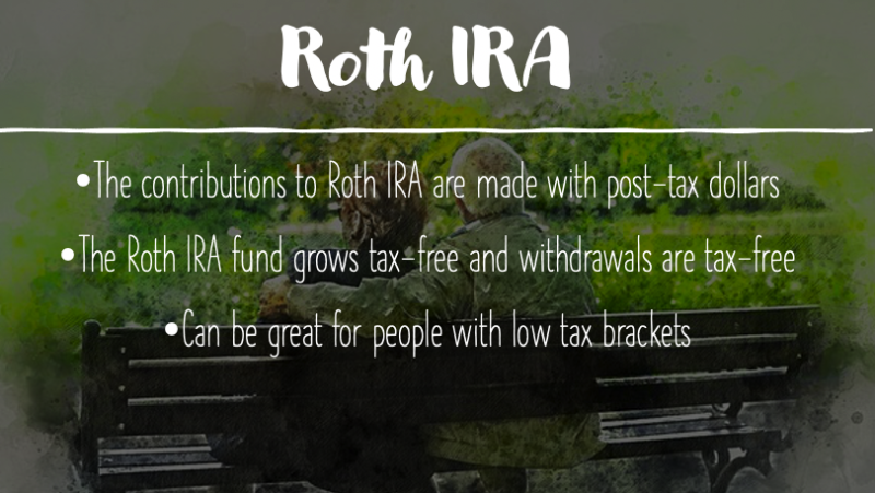 Roth Ira key benefits
